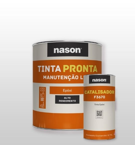Tinta Pronta Epóxi + Catalisador F3670